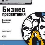Радислав Гандапас — Бизнес-презентация